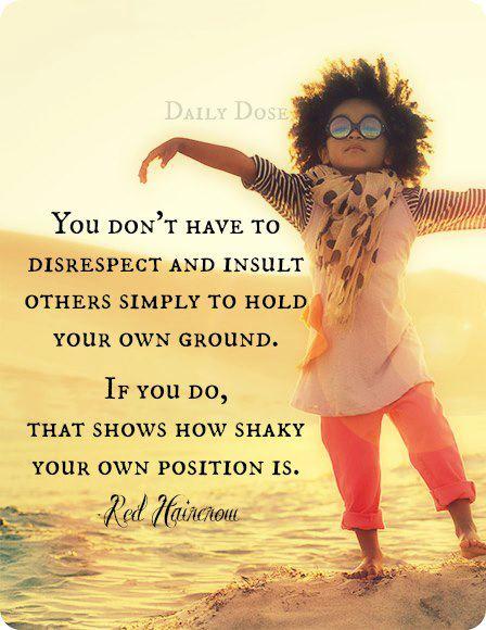 Don't Disrespect